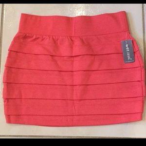 Wet Seal mini skirt
